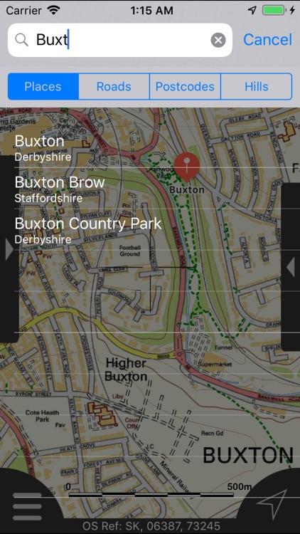 Peak District Maps Offline screenshot-9