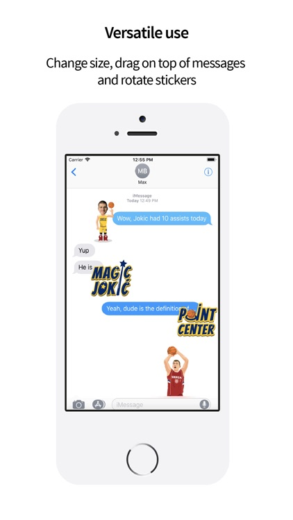 JokerMoji by Nikola Jokic screenshot-1