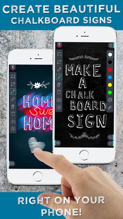 Chalkboard Signs Creator