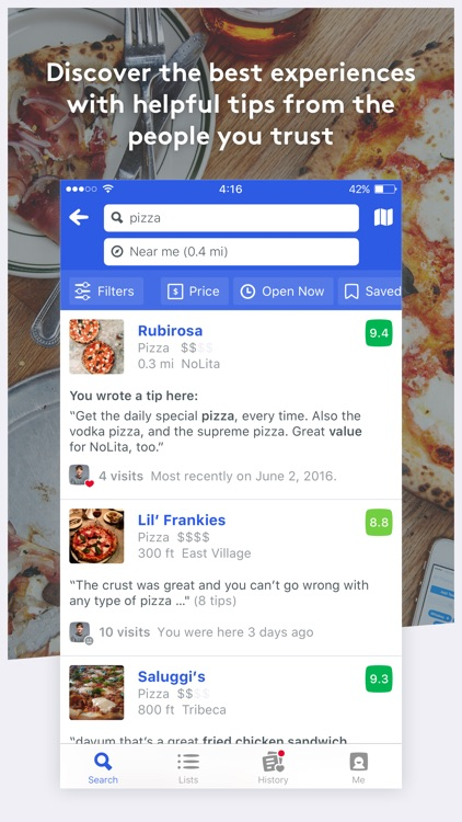 Foursquare City Guide screenshot-3
