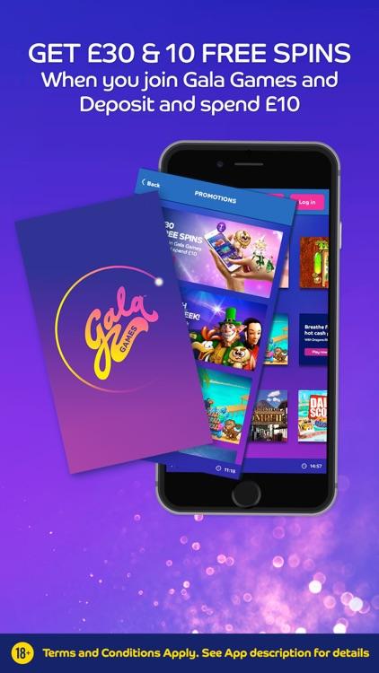 Gala Games by Gala Bingo screenshot-0