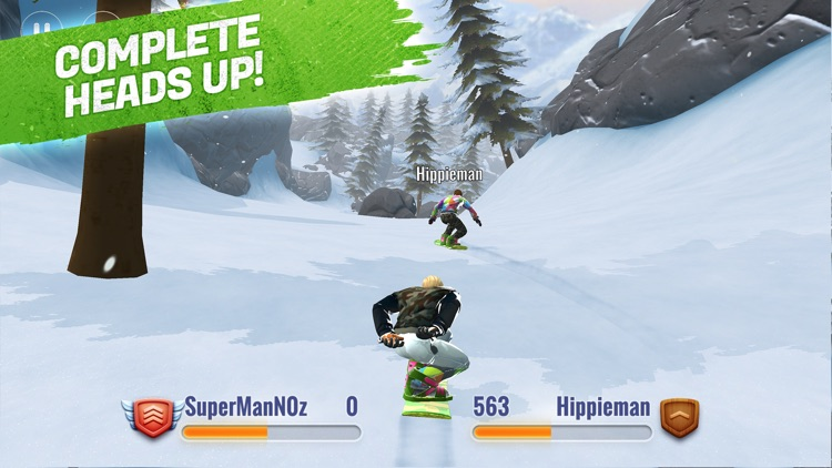 Peak Rider Snowboarding screenshot-2
