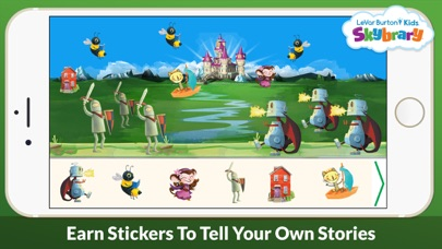 Levar Burton Kids Skybrary review screenshots