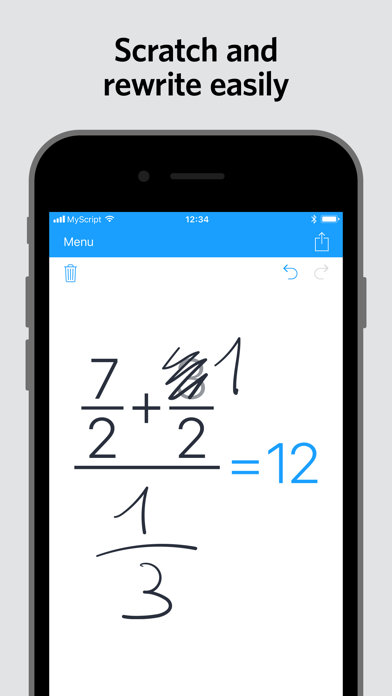 download MyScript Calculator apps 2