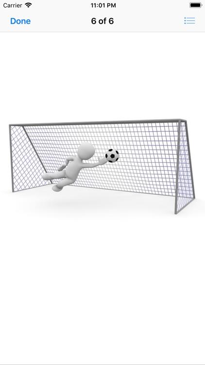Human and Football Stickers screenshot-8