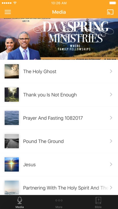 Dayspring Ministries Inc. screenshot 1