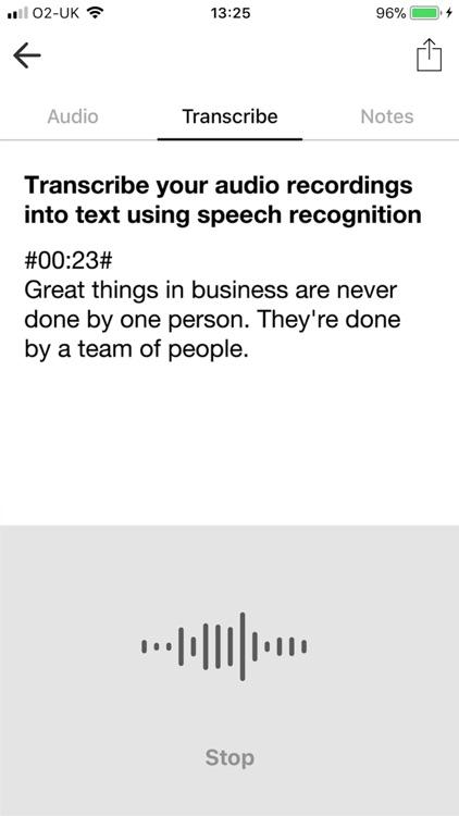 Voice Recorder & Audio Editor screenshot-3