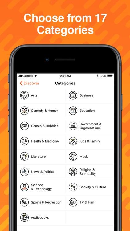 Castbox: Podcast Player screenshot-4