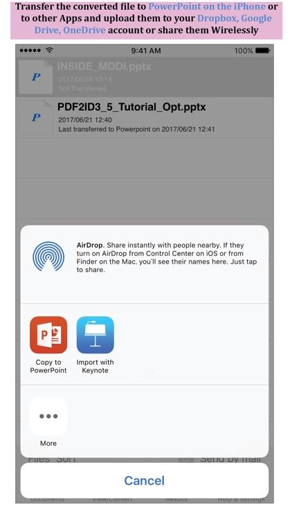 PDF to PowerPoint - PDF2Office screenshot-3