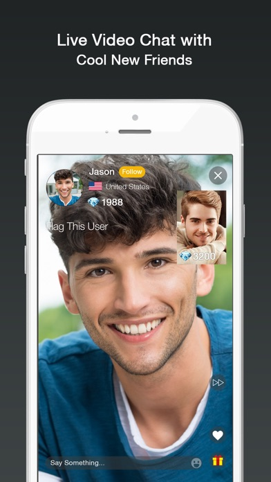 a gay dating and chat application with more