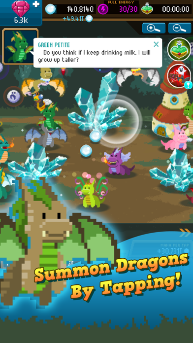 Dragon Keepers - Clicker Game screenshot one