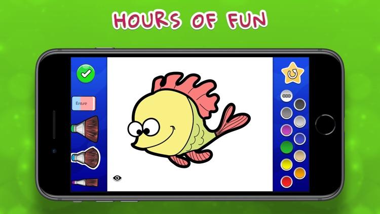 Coloring Your Ocean MAX screenshot-4