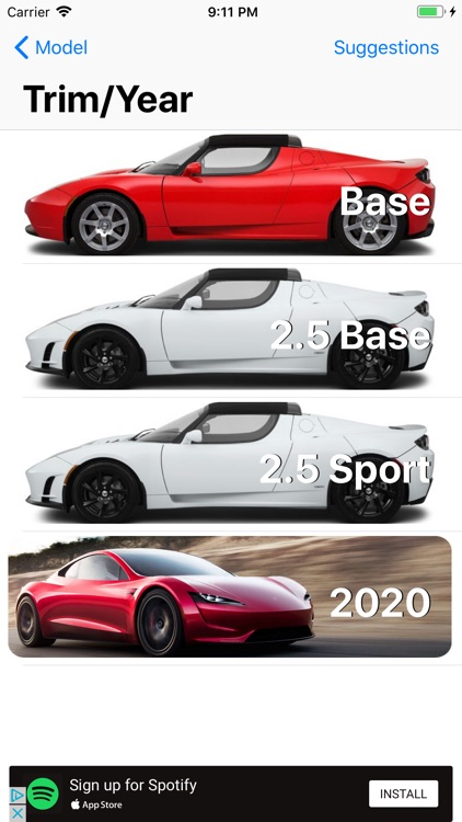 Model Tracker