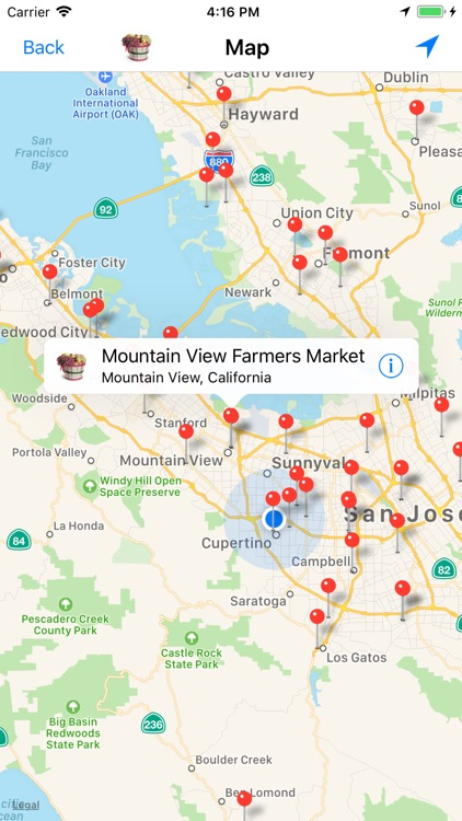 Farmers' Market Locator