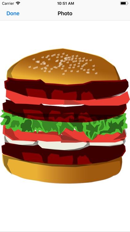 Heavenly Hamburger Stickers screenshot-3