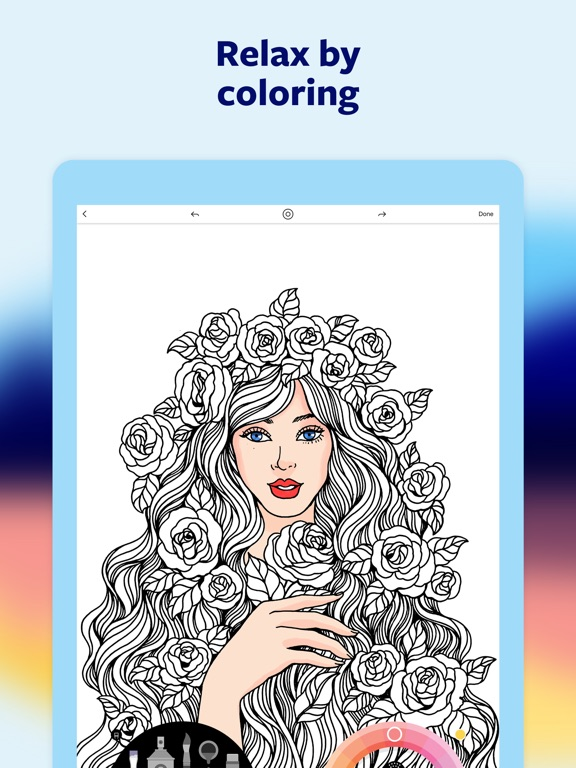 Lake: Coloring Books iPad