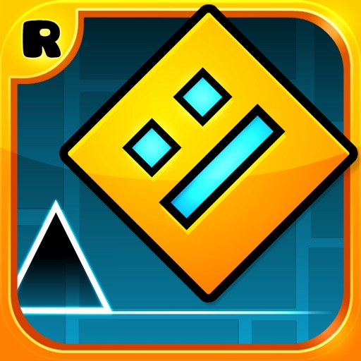 Geometry Dash app logo