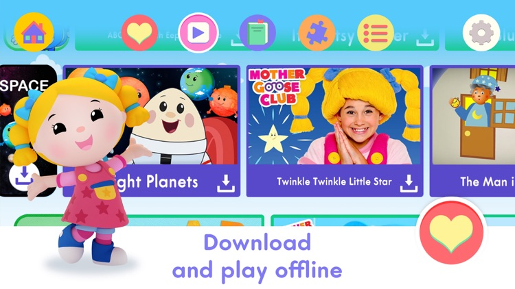 Mother Goose Club: Kids & Baby Video, Books, Games screenshot-3