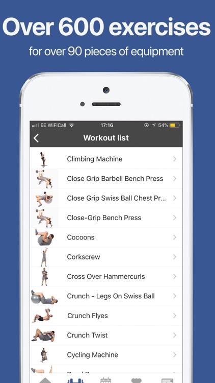 Gymster+ IIFYM Diet & Workout screenshot-5