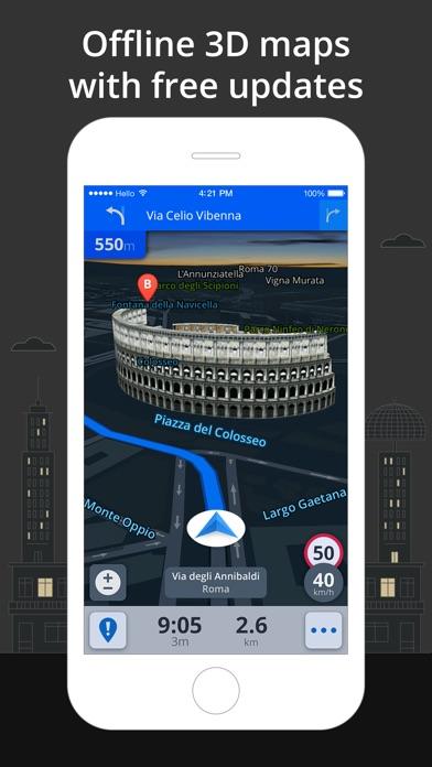 Screenshot #7 for Sygic World: GPS Navigation
