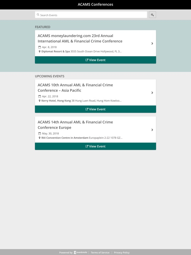 ACAMS Conferences on the App Store