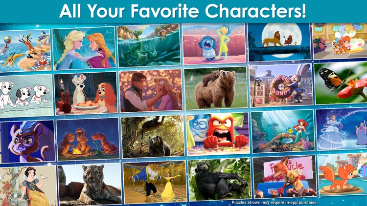 Disney Jigsaw Puzzles! screenshot-4