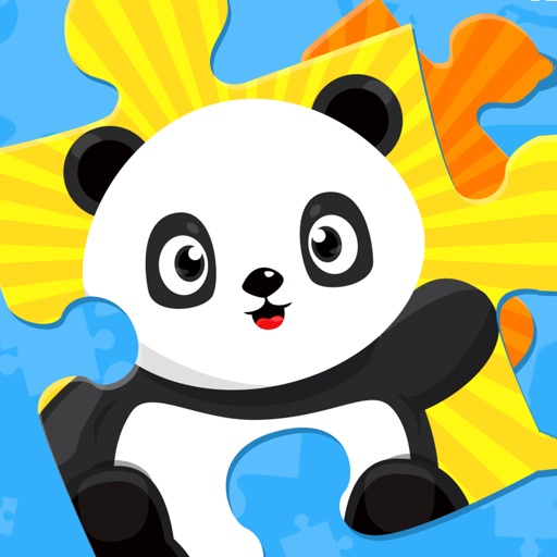 Cute Panda Jigsaw Puzzles For Kids & Toddlers