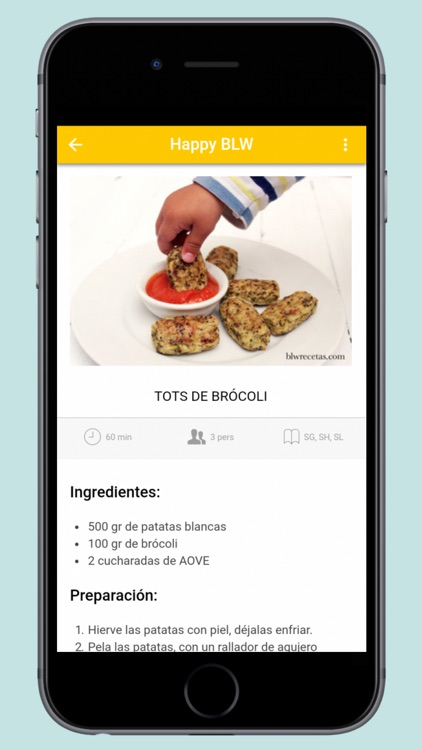 Happy BLW - Recetas Saludables screenshot-1