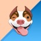 Create your very own dog emoji to send to your friends and family