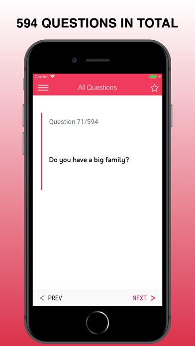 Screenshot for First Date Questions To Ask in United States App Store
