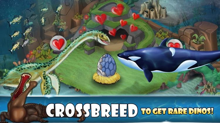 Dino Water World-Jurassic game screenshot-3