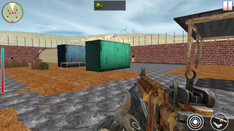 FPS Yalghaar War : Shooting Game 3D screenshot-3