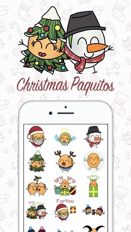 Paquitos Stickers: Christmas