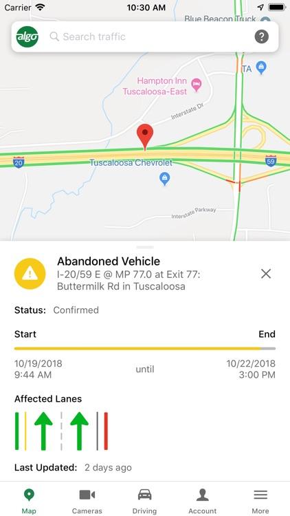 ALGO Traffic (by ALDOT & ALEA) screenshot-3