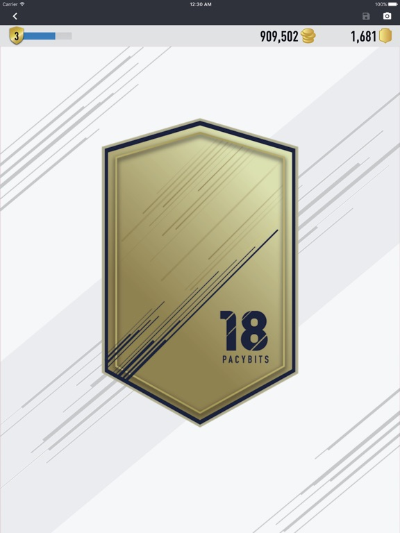 FUT 18 PACK OPENER by PacyBits Скриншоты10