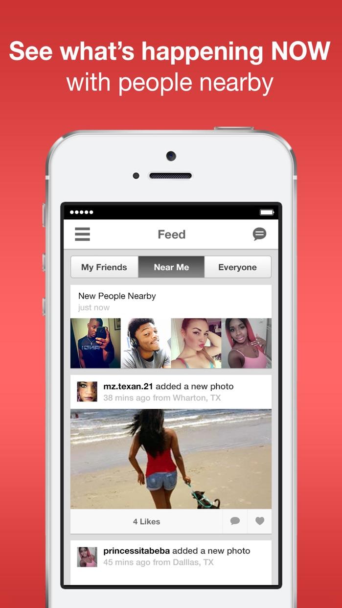 Moco - Chat, Meet People Screenshot