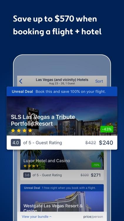 Expedia: Hotels, Flights & Vacation Deals screenshot-4
