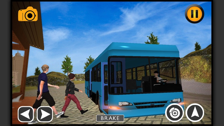 School Bus Driving sim-ulator screenshot-3