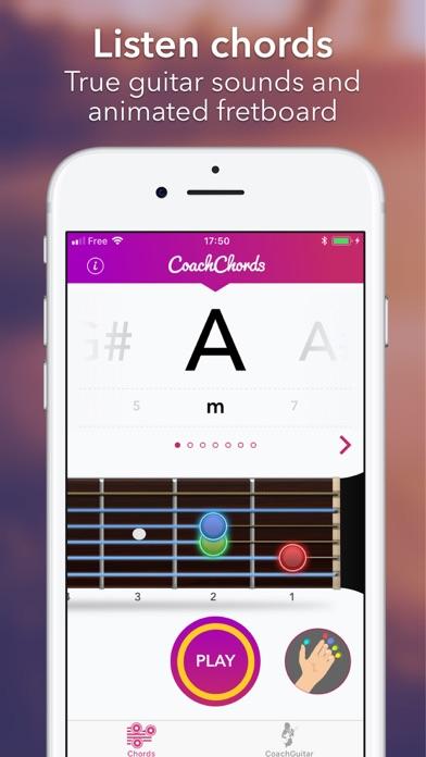 Guitar Chords chart &notes app screenshot 2