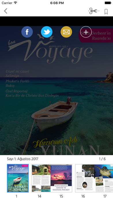 BON VOYAGE Magazine screenshot 2