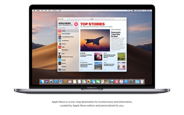 macOS Mojave on the Mac App Store