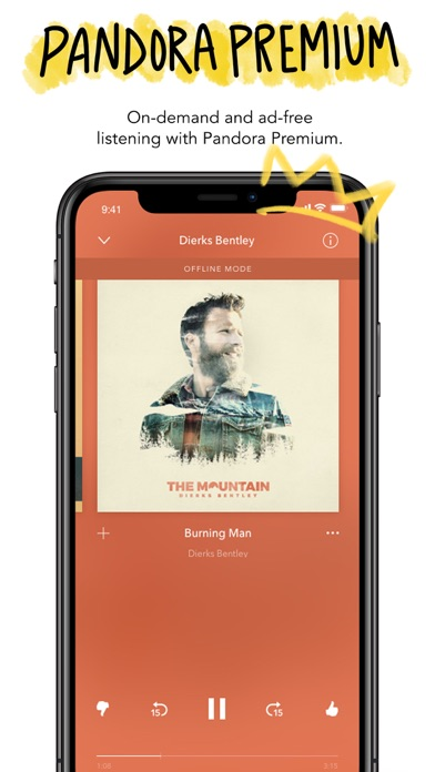 Screenshot for Pandora - Streaming Music in United States App Store