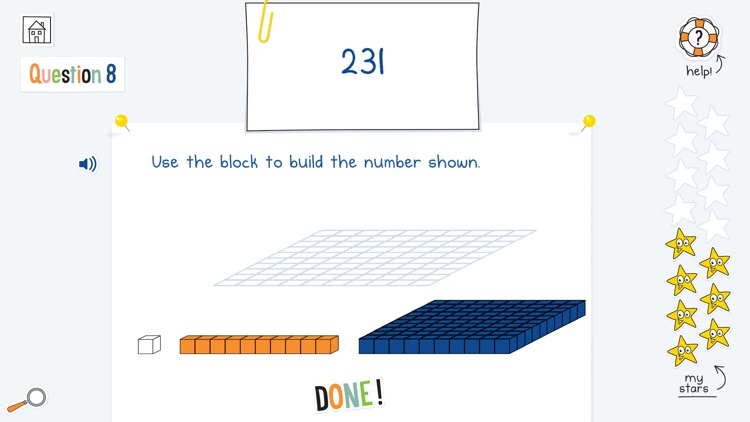 DoodleMath for 4-14 year olds screenshot-0