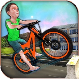 Impossible Tracks Bicycle Rider