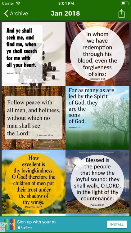 Encouraging Bible Verses ·