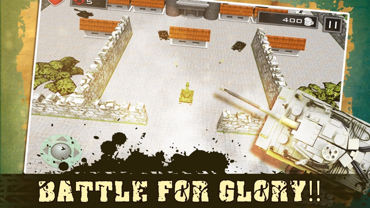 Mini Tank Battle City screenshot-1
