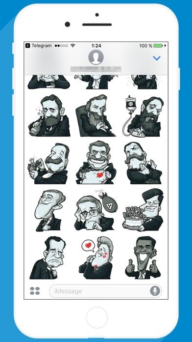 USA Presidents STiK Stickers screenshot 2