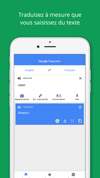 Google Traduction pour Android