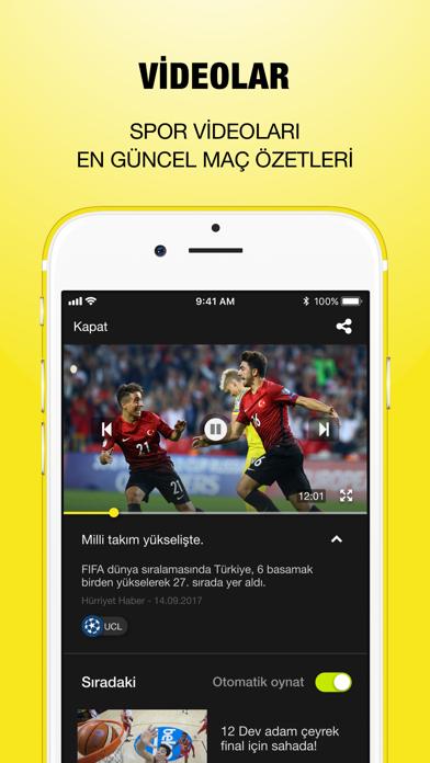 Canlı Skor Android Uygulaması