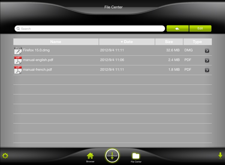 xDownload HD Lite screenshot-3
